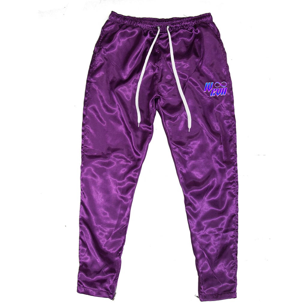 II. Purple Satin Pants