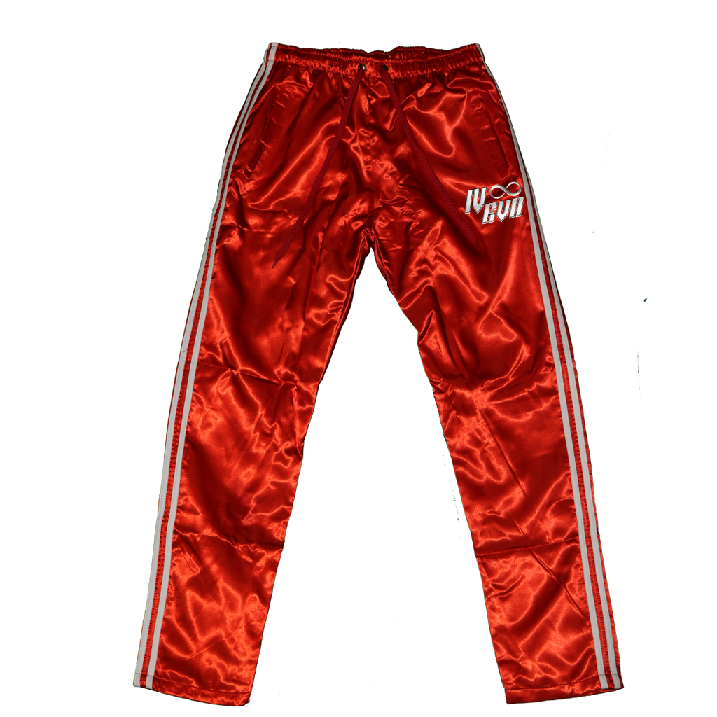 II. Red Acetate Pants