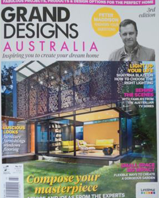 Grand Designs magazine features one of Chloe Planinsek's earlier paintings 'Cactus Hill'
