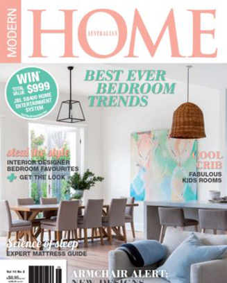 Modern Home Feature Article On Melbourne Artist Chloe Planinsek And The Home  Of Her And Her ...