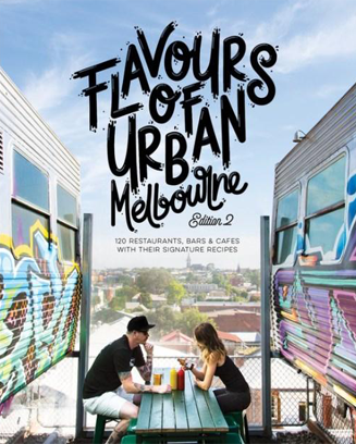 Cloud murals painted by Chloe Planinsek. Benjamins Kitchen featured in the Flavours Of Urban Melbourne book.