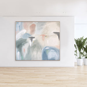 Air of Love IV - 1.55m x 1.35m