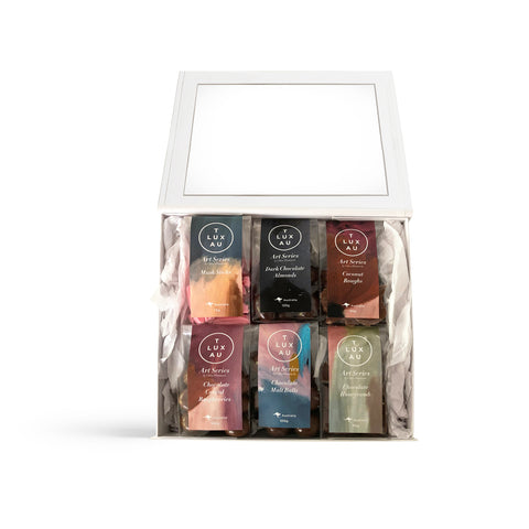 Artful Delights Window Gift Box - Art Series