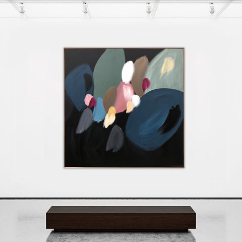 Blooming At Night - 1.4m x 1.4m