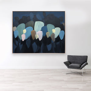 Blue Leaves - 1.55m x 1.25m