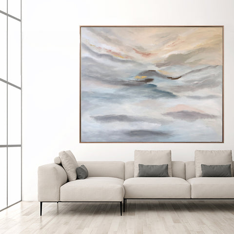 Cloud Harmony - 1.85m x 1.55m