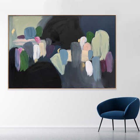 Connecting Moments - 1.85m x 1.25m