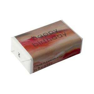 Art Series - 'Clouds Of Rouge' wrapped soap