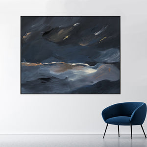 Midnight Storm - 1.58m x 1.23m