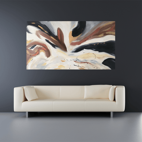 Chocolate Swirl - 1.67m x 0.8m