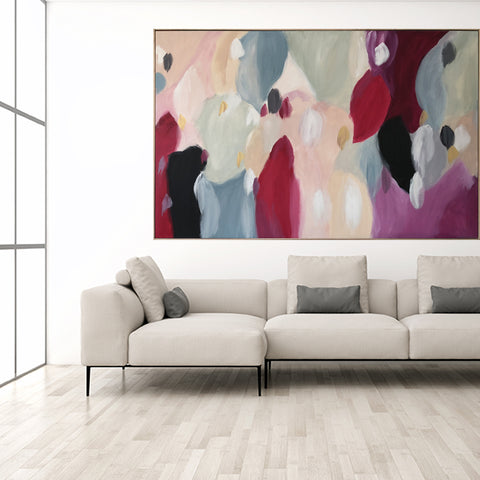 Soiree In Spring - 1.85m x 1.25m