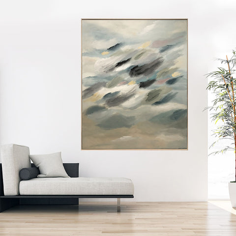 Travelling Through The Clouds - 1.4m x 1.4m