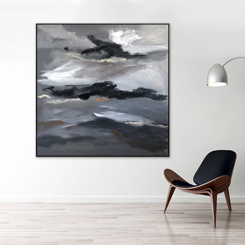 Walk Among The Clouds - 1.25m x 1.25m