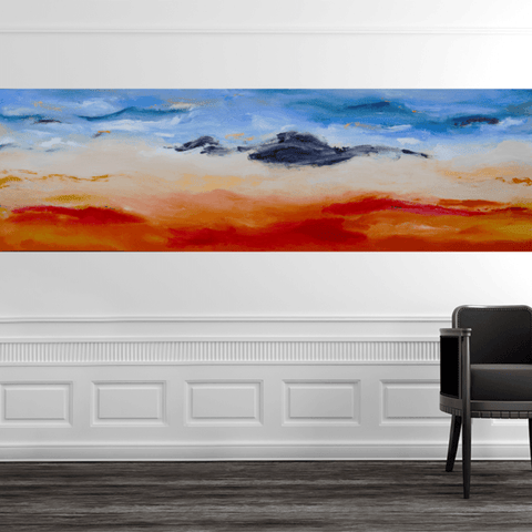 A Hot Summer Day - 3.4m x 0.9m