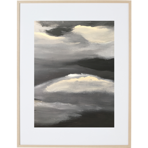 Black Night 3V - Framed Print