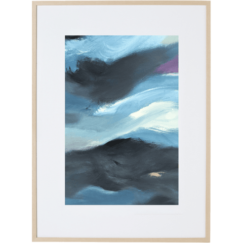 Blue Storm 3V - Framed Print