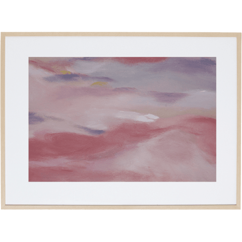Blush Sky 1H - Framed Print
