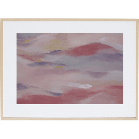 Blush Sky 2H - Framed Print