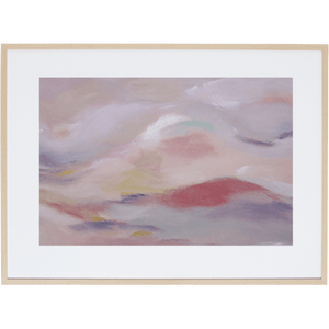 Blush Sky 3H - Framed Print