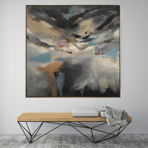 Caught In A Storm - 1.54m x 1.54m