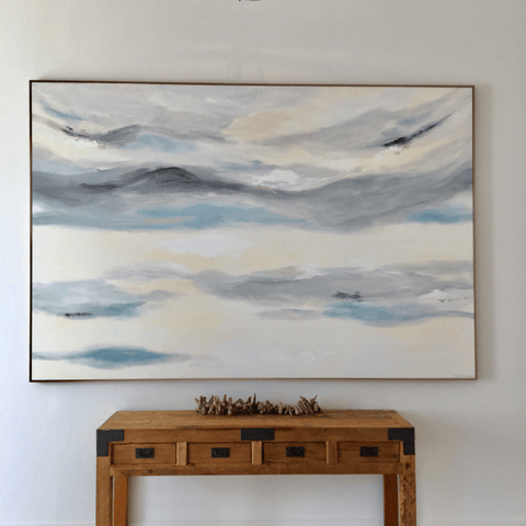 Clouds Of Silence - 3m x 2m