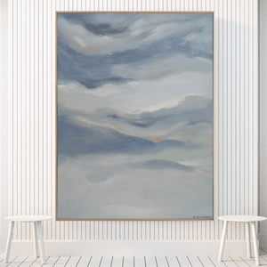 Clouds Passing Through - 1.1m x 1.4m