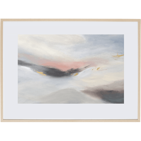 Dreaming At Dusk 1H - Framed Print