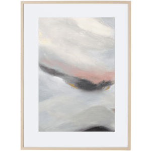 Dreaming At Dusk 1V - Framed Print