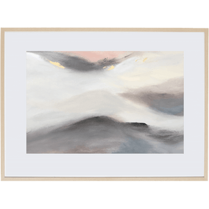 Dreaming At Dusk 2H - Framed Print