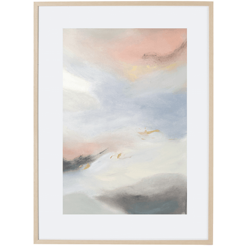 Dreaming At Dusk 2V - Framed Print