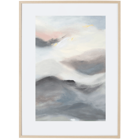 Dreaming At Dusk 3V - Framed Print