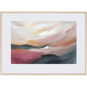 Dusk Approaching 1H - Framed Print