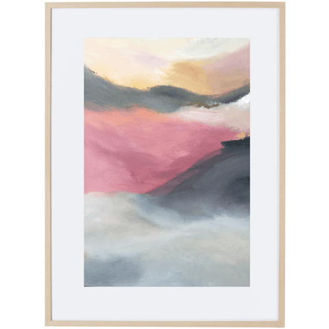 Dusk Approaching 1V - Framed Print