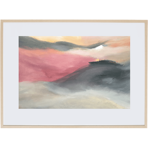 Dusk Approaching 2H - Framed Print