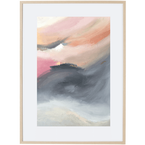 Dusk Approaching 2V - Framed Print