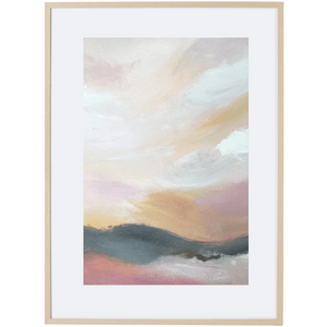 Dusk Approaching 4V - Framed Print