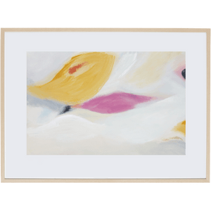 Floating Leaves 1H - Framed Print
