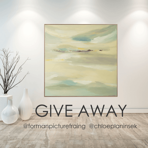 Give Away - Win this painting!!