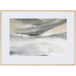 Grey Mist 1H - Framed Print