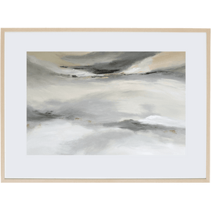 Grey Mist 2H - Framed Print