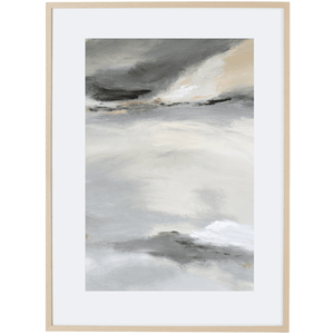 Grey Mist 4V - Framed Print