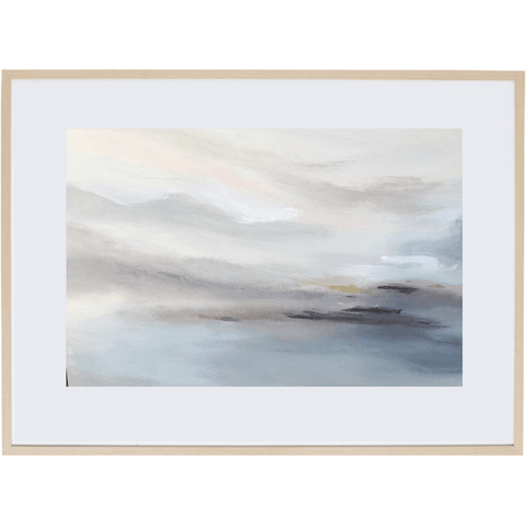 Harmony At Dusk 1H - Framed Print