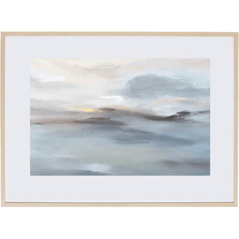 Harmony At Dusk 2H - Framed Print