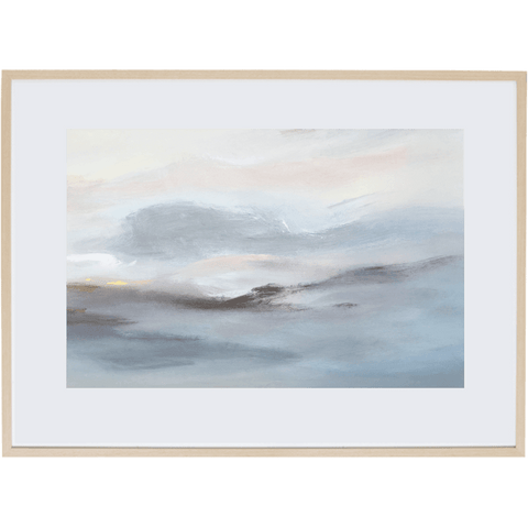 Harmony At Dusk 3H - Framed Print