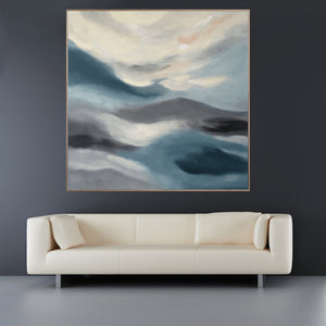Ocean Walks With You - 1m x 1m