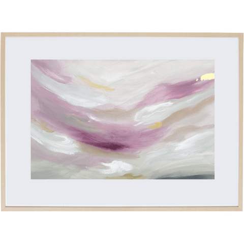 Light Of Dusk 1H - Framed Print
