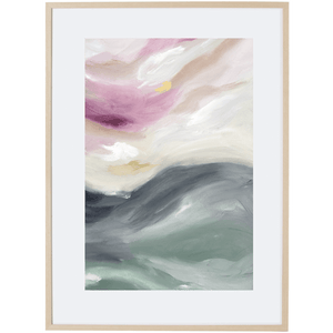 Light Of Dusk 1V - Framed Print