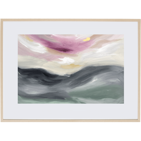 Light Of Dusk 2H - Framed Print