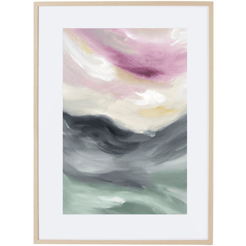 Light Of Dusk 2V - Framed Print