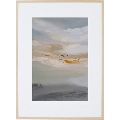 Morning Mist 1V - Framed Print